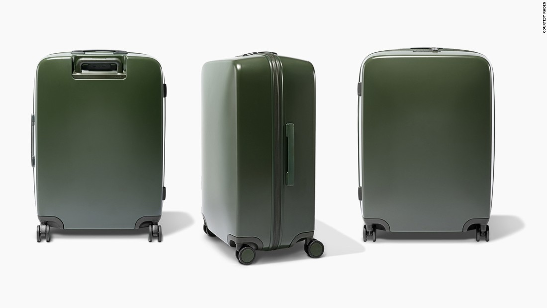 Raden produces a range of smart suitcases that can weigh themselves, text you when they get lost and even charge up your smartphone.
