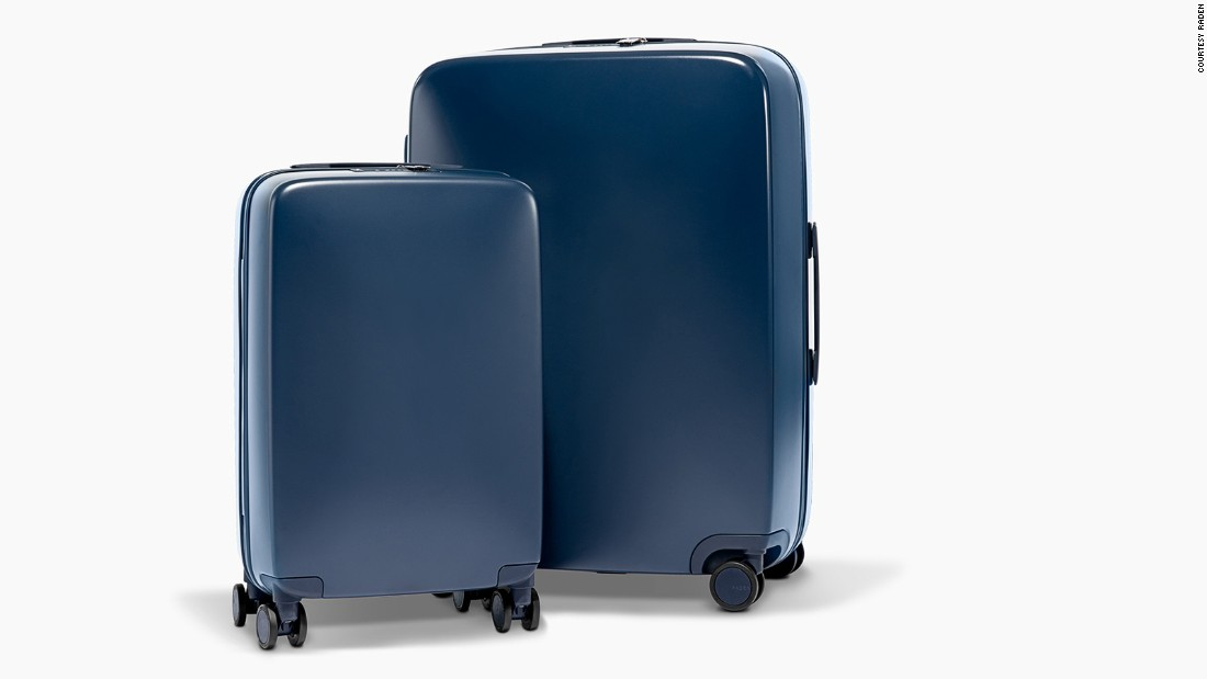 Raden's stylish polycarb corner-wheel uprights occupy a slightly lower price bracket -- it's A50 check-in and carry-on case combo retails for about $595.<br />