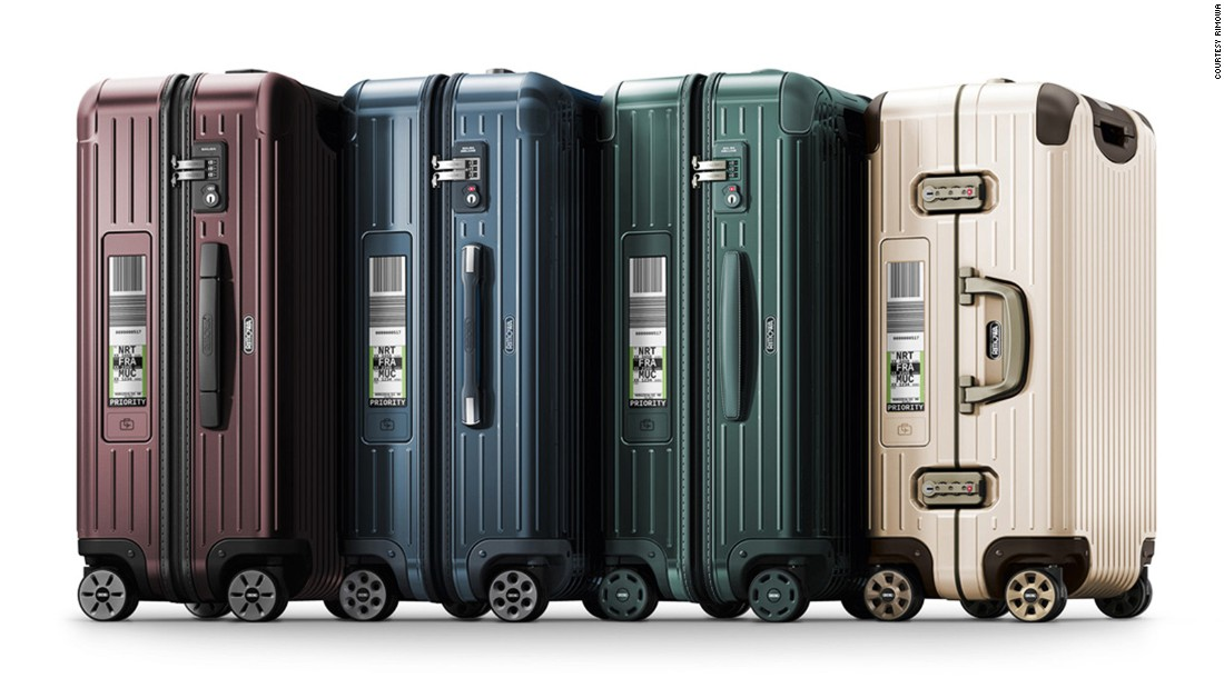 Rimowa's tag, which adds about $50 on the price of each case, has been launched in partnership with several airlines, including Lufthansa.