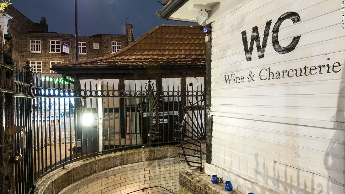 Across the river, WC in Clapham, South London, is now one of the neighborhood's top wine bars.