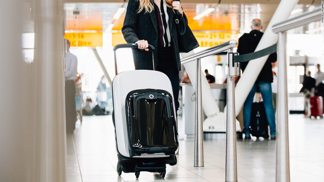 """Once you've experienced the power of push, there's no going back,"" Bugaboo co-founder Max Barenburg says. ""Wheeling a fully loaded Bugaboo Boxer through a busy airport gives you quite a special feeling."""