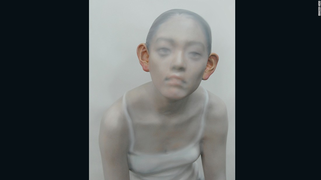 """Images of individuals wandering within society and conflict within it tend to be the motives and topics of my work,"" says Choi."