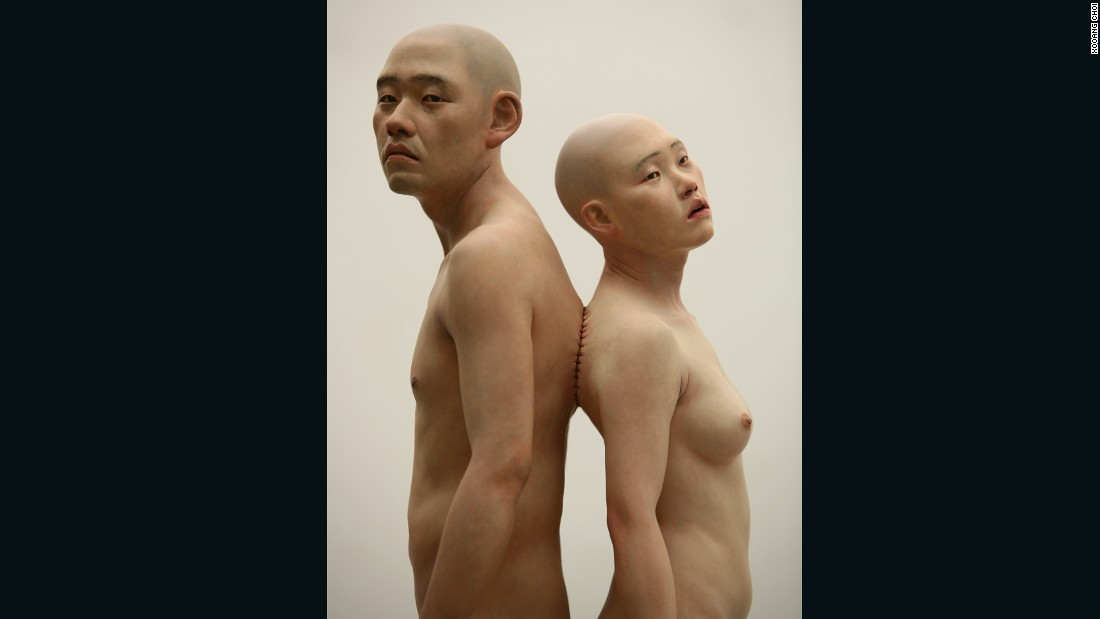 The societal norm of couples is a theme Choi frequently explores, often in grotesque and striking fashion.