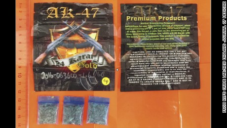 AK-47 24 Karat Gold synthetic marijuana