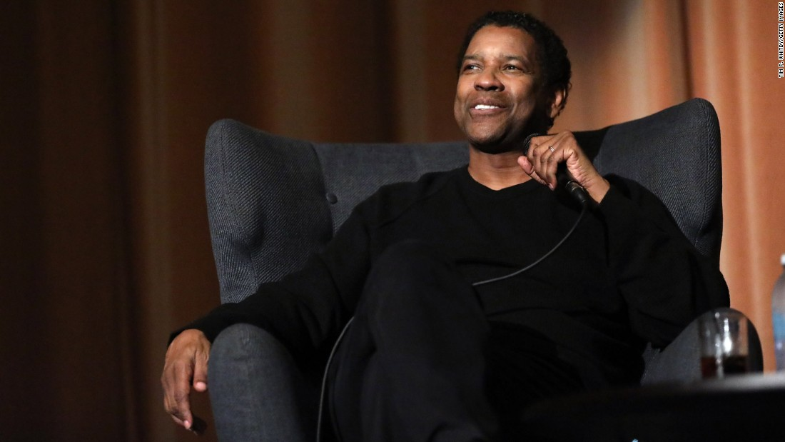 Denzel Washington Talks #OscarsSoWhite