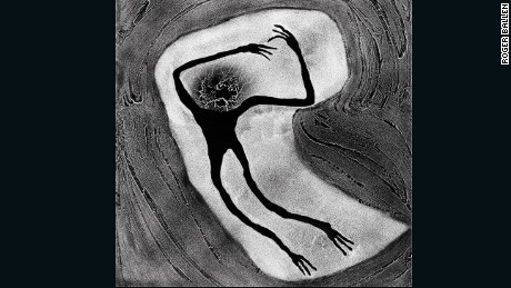 """Embroyotic,"" Roger Ballen"