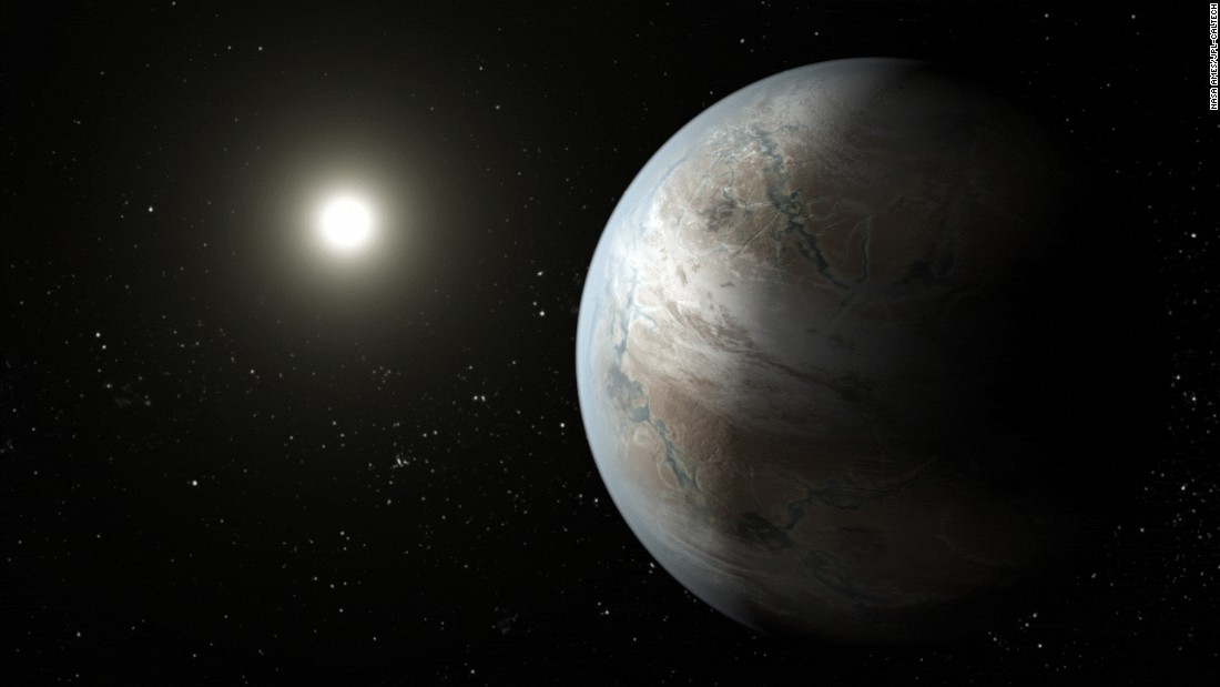 "Kepler-452b is an Earth-size planet that orbits a star similar to our sun. It's been compared with the planet Coruscant in the ""Star Wars"" films and has been called ""Earth's older, bigger cousin."""