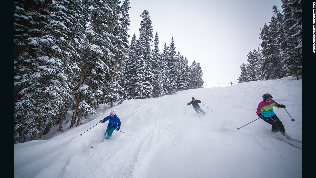 Crested Butted Mountain Resort in Colorado offers Women's Tips clinics on Tuesdays. The $67 fee includes an après glass of wine.