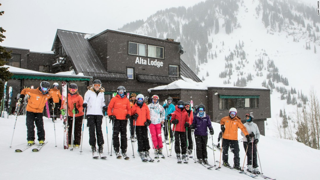 Alta Lodge in Alta, Utah, offers four annual women's ski camps. The camps generate about a 75% return rate among participants.