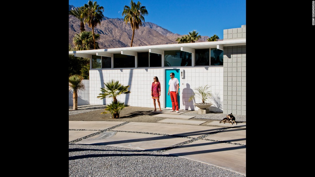 "Surrounded by mountains, Palm Springs, California, remains as picturesque as ever, especially for documentary photographer <a href=""http://www.nancybaron.com/"" target=""_blank"">Nancy Baron</a>. She began living in Palm Springs part-time in 2005 and has come to view the city as a fountain of endless inspiration. Here, Jen, Alex, Maddie, and the Morning Moon."