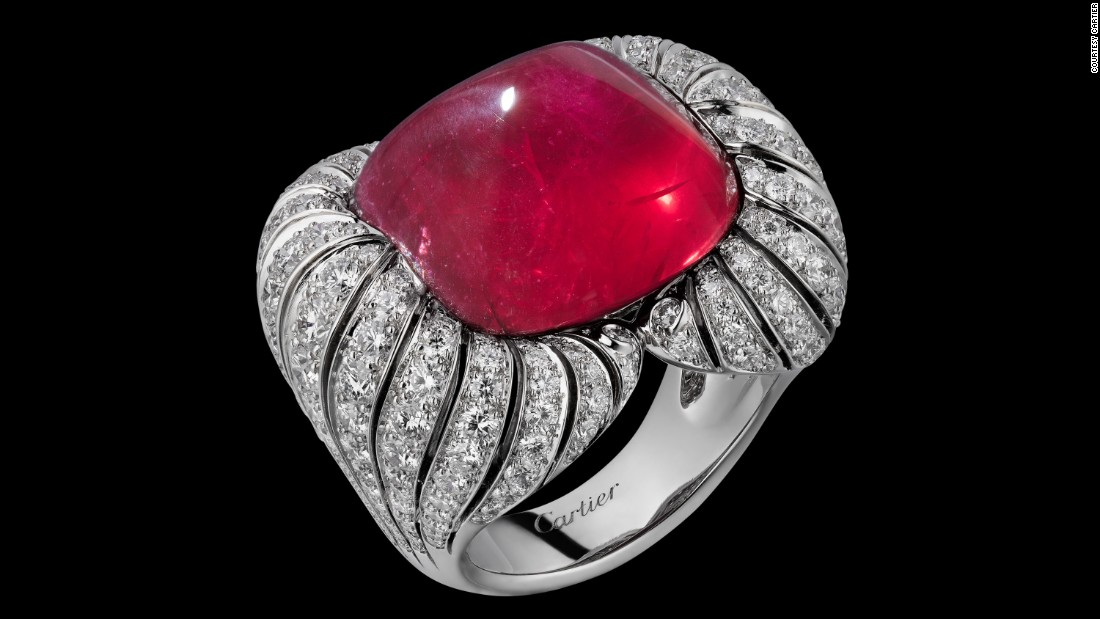 French luxury jeweler Cartier is among the companies that have embraced the Mozambican ruby.