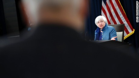Federal Reserve Board Chair Janet Yellen speaks during a news conference about the Federal Reserve's monetary policy, Wednesday, Dec. 14, 2016 in Washington. The Federal Reserve is raising a key interest rate for the first time in a year, reflecting a resilient U.S. economy and expectations of higher inflation. The move will mean modestly higher rates on some loans. (AP Photo/Alex Brandon)