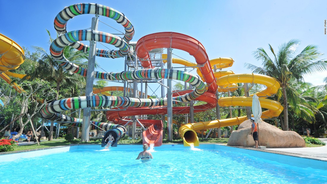 Vietnam's version of Disneyland, Vinpearl Land has a water park, aquarium and clear, calm beach. Admission is about $30 dollars per person.