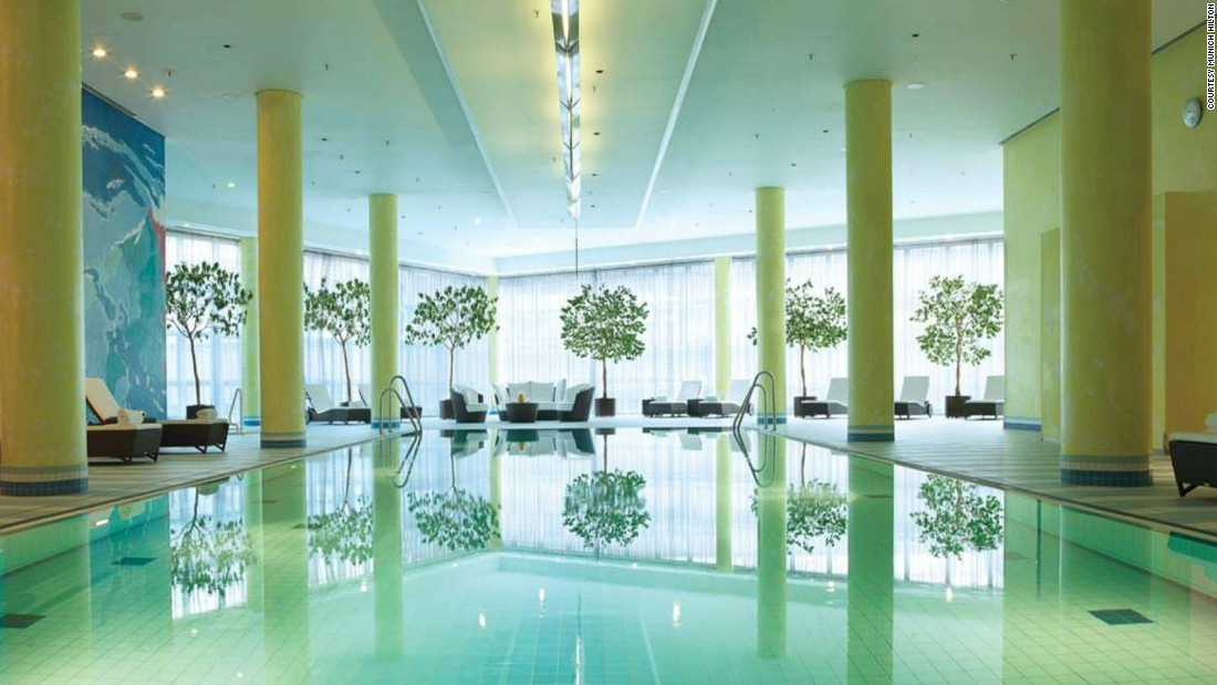 From the heated indoor pool, sauna, hot tub and well-equipped gym, the Hilton Munich Airport makes for the perfect antidote to Oktoberfest excess.