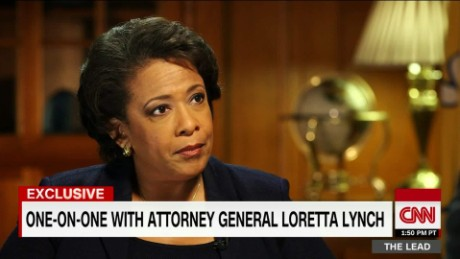 loretta lynch attorney general tapper intv lead sotu sot_00024623