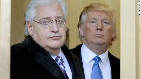 Trump picks Friedman as ambassador to Israel