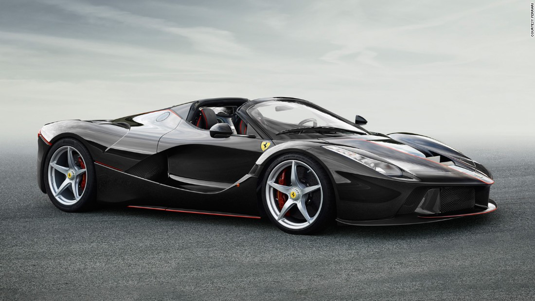 "Making <a href=""http://edition.cnn.com/2016/10/03/autos/laferrari-aperta-paris-motor-show/"">the hybrid hypercar</a> that is the Ferrari LaFerrari more desirable is no easy task, but Ferrari rose to the challenge by removing the roof, creating the open-top Aperta version. The adjusted aerodynamics and strengthened chassis ensure it's as capable as the hardtop coupe."