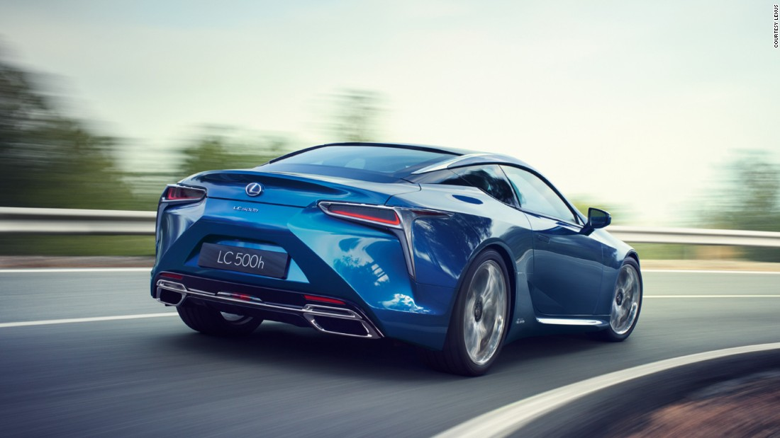 It will be available in two flavors: a 473bhp V8 gas-guzzler that is sure to delight petrolheads, and a hybrid known as the 500h that cares more about the trees. Though sportier than your typical Lexus, it's still likely to glide along like few other cars can.