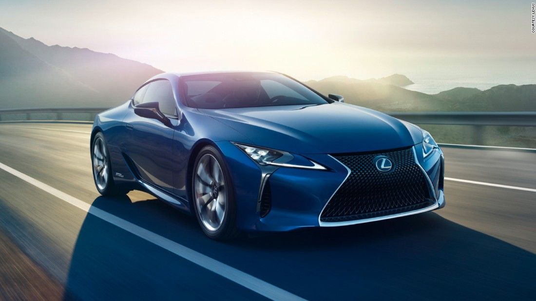"The <a href=""https://www.lexus.co.uk/car-models/lc/lc-500/#Introduction"" target=""_blank"">Lexus LC 500</a> is the LFA supercar's successor and therefore has size-18 shoes to fill."
