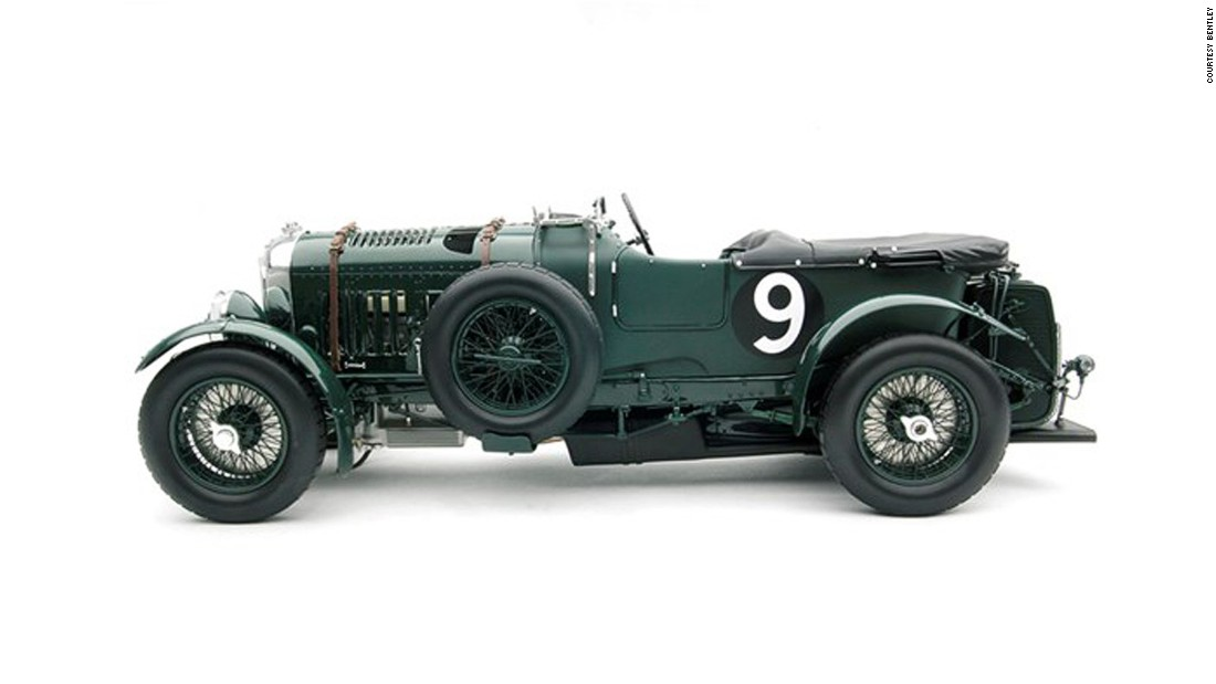 "Many a car enthusiast will have some car-related paraphernalia on their desk, including a toy car. But rarely do they get as decadent as the 1:8 scale <a href=""https://shop.bentleymotors.com/en/collections/heritage/18-bentley-blower/"" target=""_blank"">Bentley Blower</a>, based on the 4.5-litre classic car that took to the Brooklands track in 1929.<br /><br />The model takes 3,000 hours to build, and is made from more than 1,000 resin and aluminum components exactly to the original. A bargain at £6,250 ($7,400) when you consider the original car to win Le Mans sold for just over £5 million ($7.8 million at the time) back in 2012."