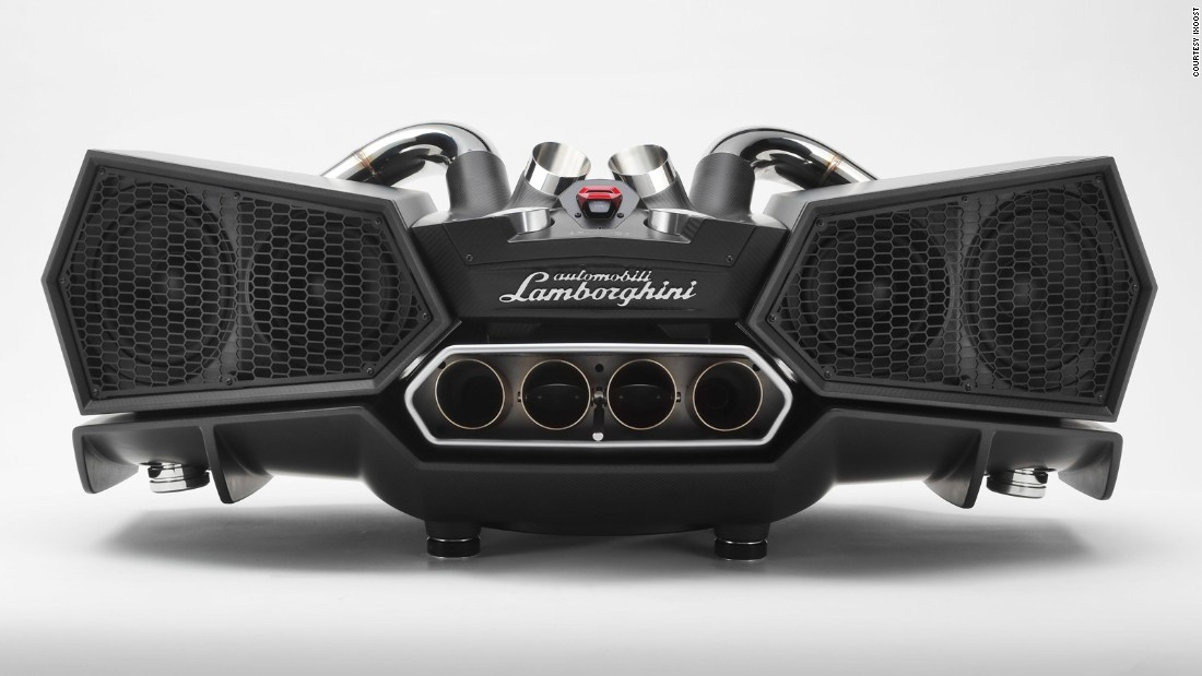 "Do you yearn for a home speaker system that resembles the back of a Lamborghini Aventador? Audio company <a href=""http://www.ixoost.it/esavox/eng/index.php"" target=""_blank"">Ixoost</a> has you covered."