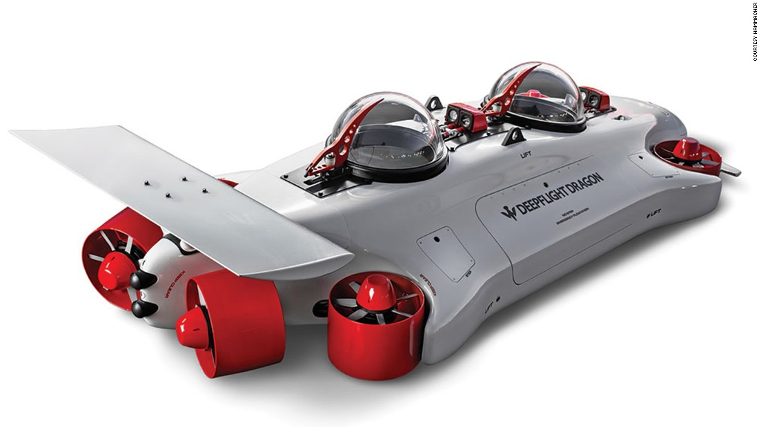 "For the driver that has already conquered the roads, the $1.5-million <a href=""http://www.hammacher.com/Product/12800"" target=""_blank"">Undersea Aquahoverer</a> opens up a whole new terrain: the sea. Yes, this sci-fi design allows its driver -- and a passenger -- to cruise underneath the water's surface."