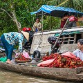 Floating Markets Can Tho - Alesha Bradford