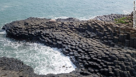 "Vietnam's relatively unknown ""Giant's Causeway"" lies on an extraordinary ocean ride."