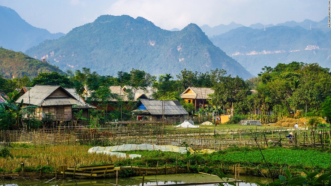 A rural stopover in Mai Chau allows riders to experience northern Vietnam's traditional farming ways. Affordable home stays can be found throughout the village.