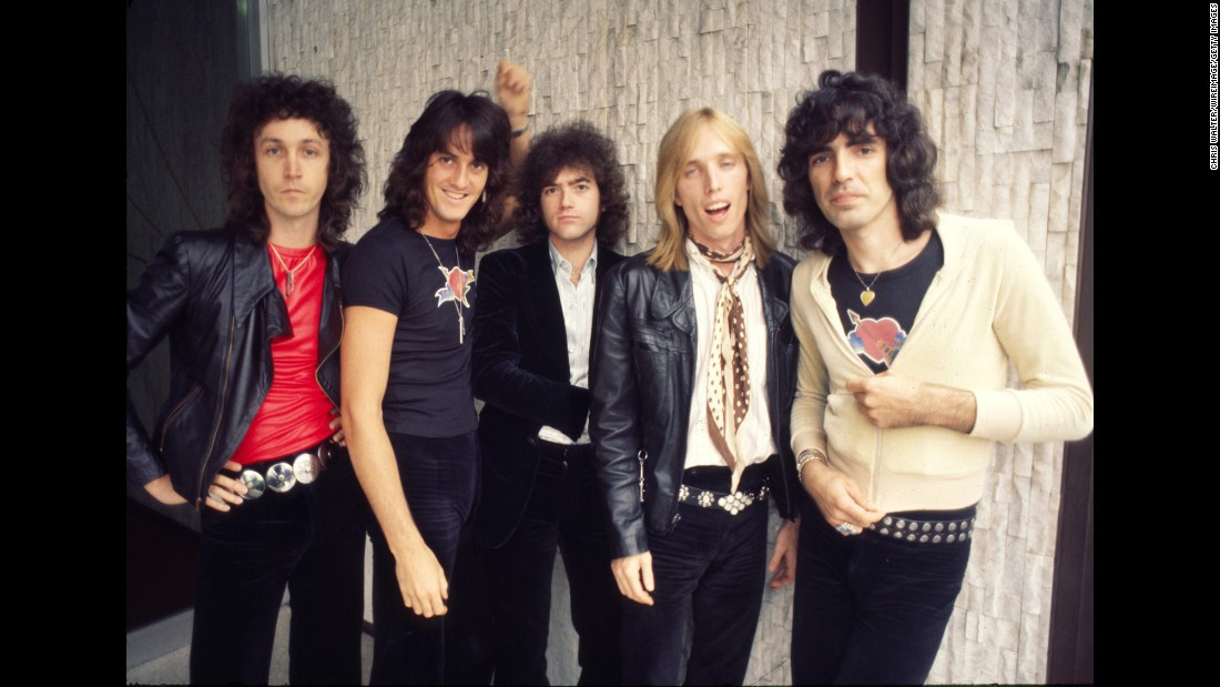 "Preparing for his band's 40th anniversary tour in 2017, Tom Petty told Rolling Stone, ""I was thinking this might be the last big one."" Left to right: the band's original lineup included guitarist Steve Campbell, drummer Stan Lynch (who left in 1994), keyboardist Benmont Tench, Petty and bassist Ron Blair. The band has sold 31.5 million units in the US, according to the Recording Industry Association of America."