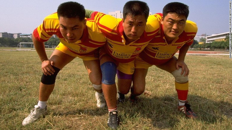 Waking the sleeping dragon of rugby in China