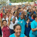 fijians celebrate at home