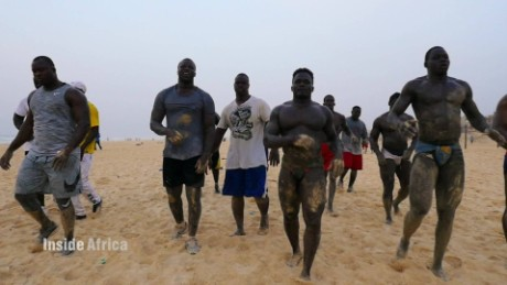 Senegal's wrestling roots