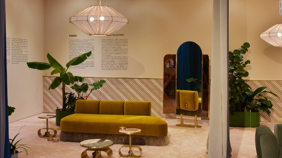 The Happy Room, by Cristina Celestino was a collaboration between the young designer and Italian fashion house Fendi.