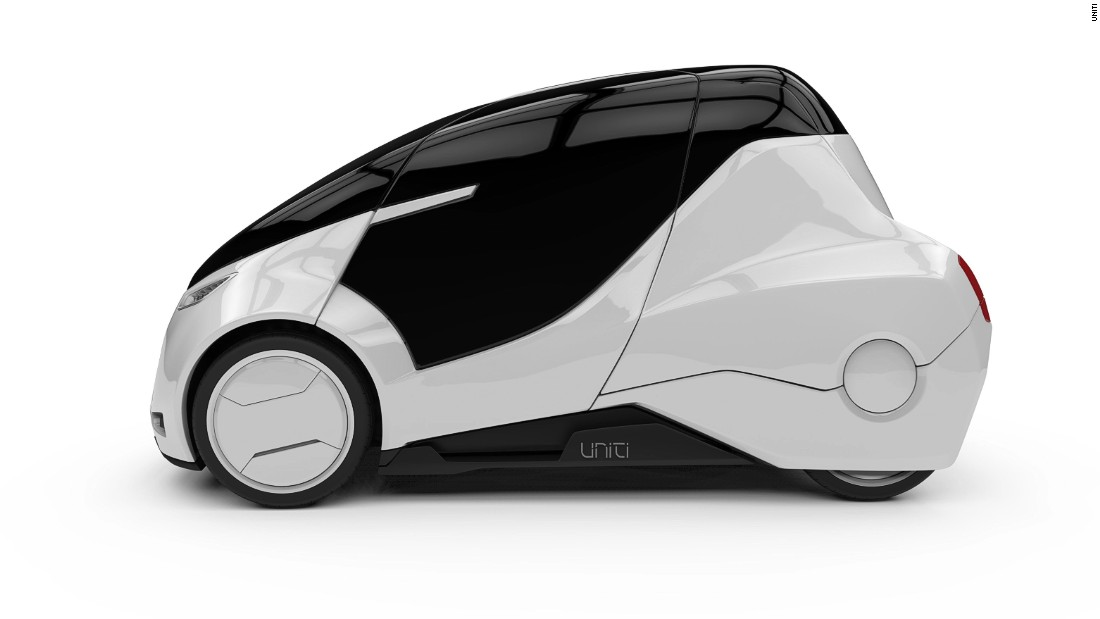 "Swedish start-up <a href=""http://www.unitisweden.com"" target=""_blank"">Uniti</a> is hoping to redefine urban transport of the future with a two-seater that will weigh just 400 kilos, have a range of 150 kilometers (93 miles) and a top speed of 55 mph."