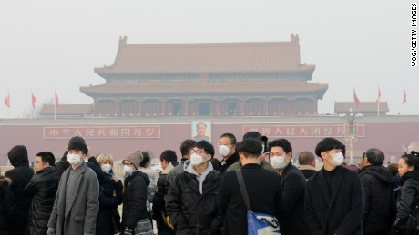 Beijing's smog: A tale of two cities
