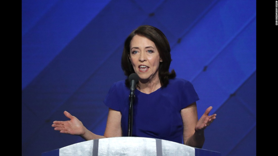 US Sen. Maria Cantwell got a vice-presidential vote from a faithless elector in her home state of Washington.