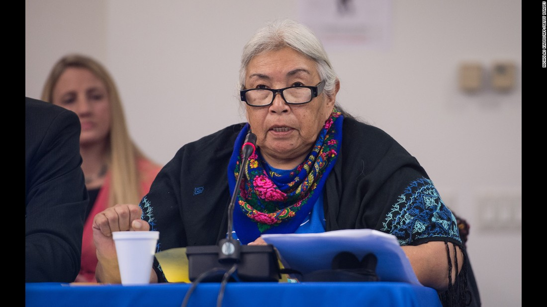 One faithless elector in Washington state cast a presidential vote for Faith Spotted Eagle, a Native American activist who's been involved in the North Dakota pipeline fight.