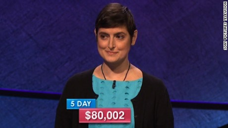 'Jeopardy!' contestant ends streak, but keeps big secret