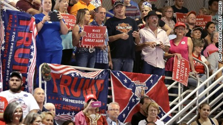 Supporters of Trump and the Old South both obscure the relevance of race, some historians say.