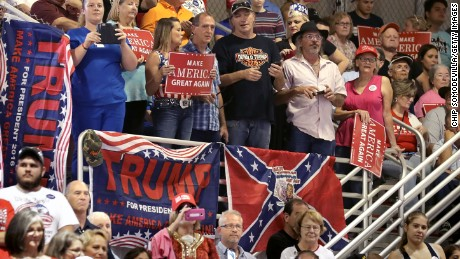 The link between some of Trump's supporters and the Old South goes deeper than how they see race - it's how they obscure its relevance, some historians say.