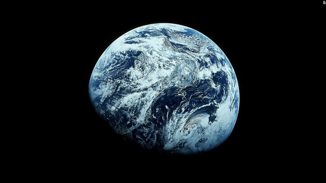 Apollo 8 was also the first time that humans took photos of the entire Earth from space.