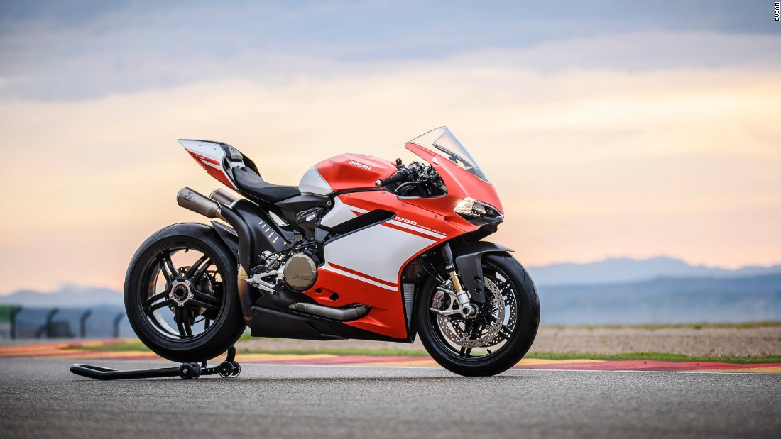"With its 215 horsepower, <a href=""http://superleggera.ducati.com/en"" target=""_blank"">1299 Superleggera</a> is the most powerful twin-cylinder bike Ducati has ever produced."