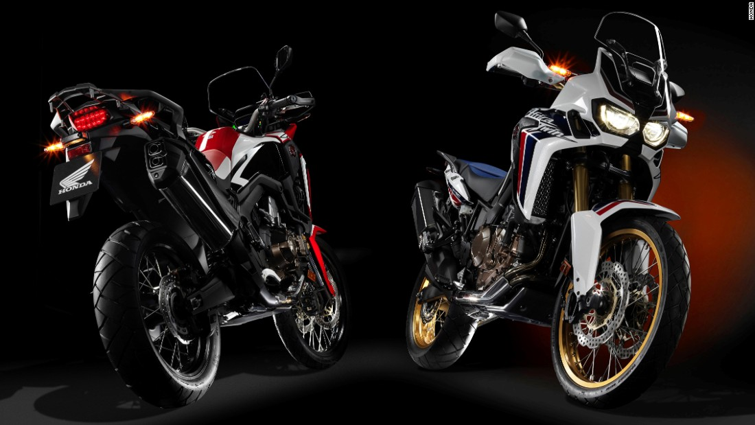 "Named by AutoTrader as overall winner of its <a href=""http://autotraderbestbikeawards.co.uk/2016/"" target=""_blank"">Best Bike Awards 2016</a>, the <a href=""http://world.honda.com/CRF1000L/"" target=""_blank"">Honda Africa Twin</a> is a dual-purpose adventure bike designed to be as competent off road as it is mixing with traffic or cruising on a carriageway."