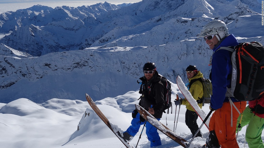 Clambering up mountain sides with skis and poles and braving off-piste routes in the Italian Alps may not be for the fainthearted or inexperienced, but it is a fitness booster like no other.