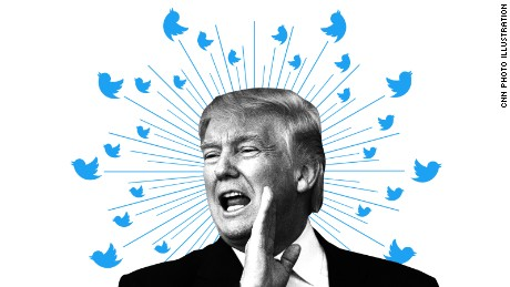 Even as President-elect, Donald Trump has not stepped back from Twitter.