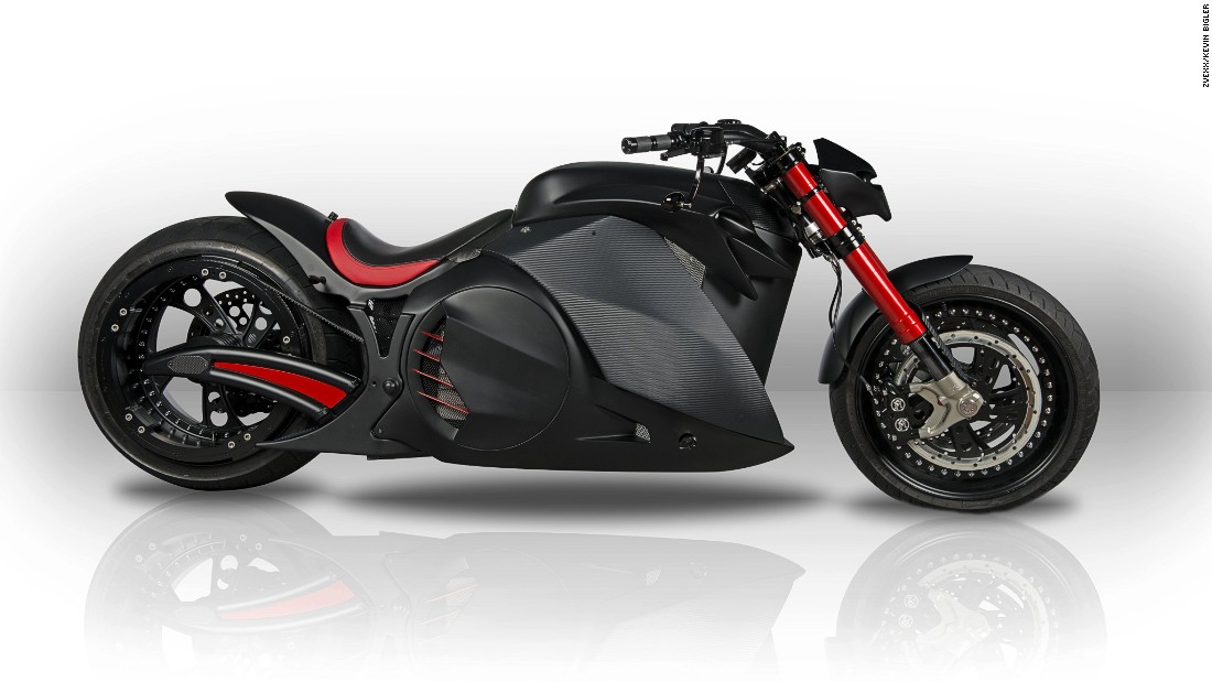 "Swiss firm <a href=""http://zvexx.com/"" target=""_blank"">Zvexx </a>produced this eye-catching prototype to demonstrate that electric motorcycles can deliver outstanding performance with the looks to match."