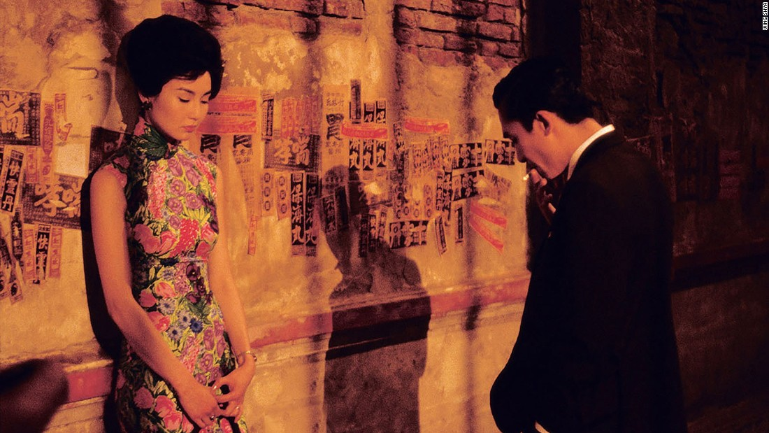 "As director Wong Kar Wai's exclusive set photographer, Hong Kong artist Wing Shya is known for his vivid, tender images from the golden era of Hong Kong cinema, including this moment between Maggie Cheung and Tony Leung during the filming of Wong Kar Wai's masterpiece, ""In the Mood For Love."""