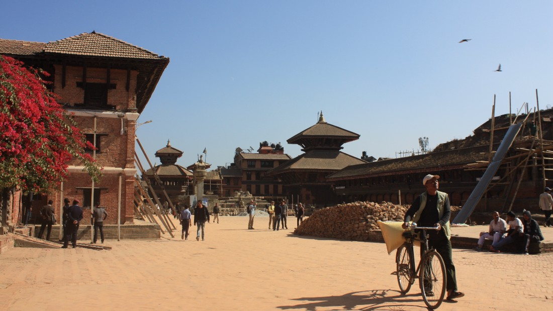 Before the earthquake of 2015, Bhaktapur was said to have the most magnificent of the Kathmandu Valley's three Durbar Squares -- a generic term for an area surrounded by royal palaces and temples dating back to the ancient kingdoms of Nepal. <br /><br />