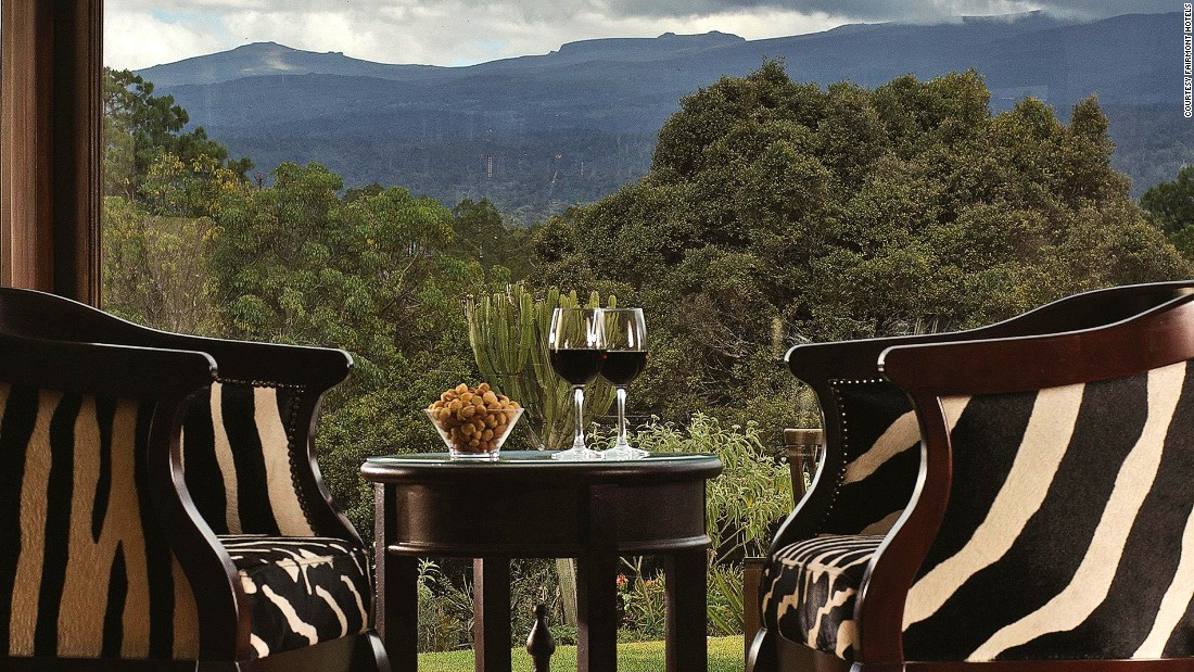 <strong>Best places to drink in Kenya:</strong> Founded by Hollywood heartthrob William Holden in 1959, Zebar at the Fairmont Mount Kenya Safari Club is one of the best places to quench your thirst in the country.